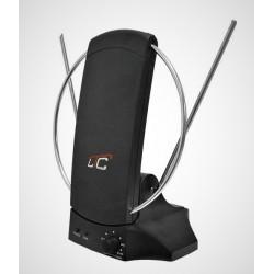 Antena pokojowa DVBT04 ze wzmacniaczem DVB-T