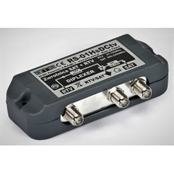 Sumator sygnału TV-SAT RS01Hs (DCtv) wewnętrzny