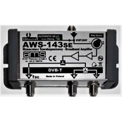 Wzmacniacz ant. wewn. AWS-143 1wej/3wyj. regul.