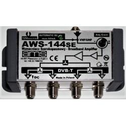 Wzmacniacz ant. wewn. AWS-144 1wej/4wyj. regul.