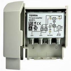 Wzmacniacz masztowy MA081L (VHF+2xUHF) TTERRA