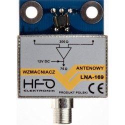 Wzmacniacz antenowy dopuszkowy LNA-169 24dB ekranowany