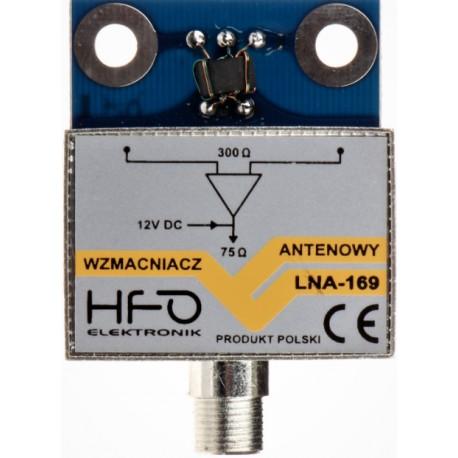 Wzmacniacz ant. LNA-169 ekranowany