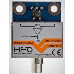 Wzmacniacz antenowy dopuszkowy LNA-177 30dB ekranowany