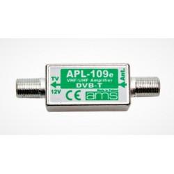 Wzmacniacz antenowy APL-109M przelotowy 28dB