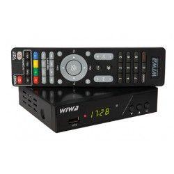 Tuner DVB-T2 WIWA H.265 PRO z funkcją internetu