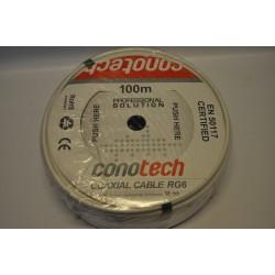Przewód koncentryczny NS100 TRI 1,0/4,8/6,8 Cu (100m)