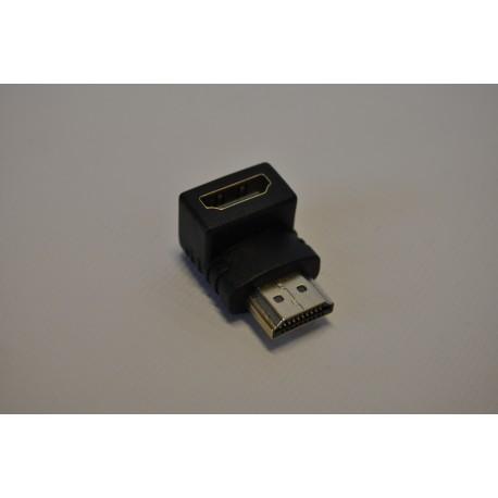 Przejście wt.HDMI- gn.HDMI kątowe ( HD49)