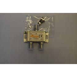Rozgałęźnik TV R-2 /1wej/2wyj/SIGNAL