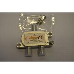 Rozgałęźnik TV-SAT 1wej/2wyj SIGNAL RSAT- 2