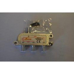 Rozgałęźnik TV-SAT 1wej/3wyj power pass SIGNAL