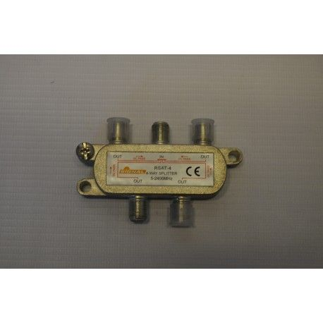 Rozgałęźnik TV-SAT 1wej./4wyj power pass SIGNAL