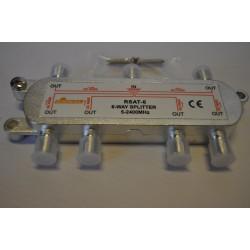 Rozgałęźnik TV-SAT 1/6 DC pass SIGNAL