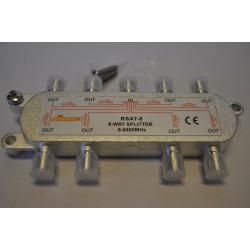 Rozgałęźnik TV-SAT 1/8 DC pass SIGNAL