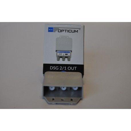 Przełącznik DISEQC 2/1 zewnętrzny OPTICUM