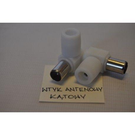 Wtyk antenowy kątowy HQ (100szt) /5031/