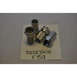 Wtyk typu F 5,9/18,5mm (100szt)