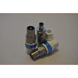 Przejściówka wtyk: IEC Cabelcon na przewód RG-6