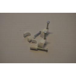 Uchwyt przewodu FLOP 7mm (100szt)