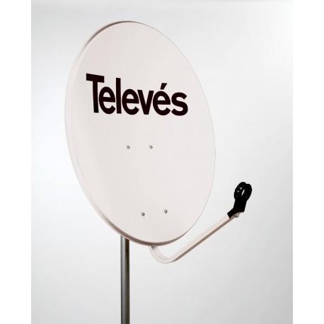 Antena satelitarna 80cm stal. TELEVES