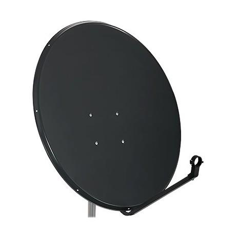 Antena satelitarna 90cm stal. D900C DSE grafit.