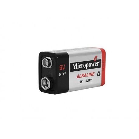 Bateria alkaliczna 9V 6LR91 MicroPower /B265/