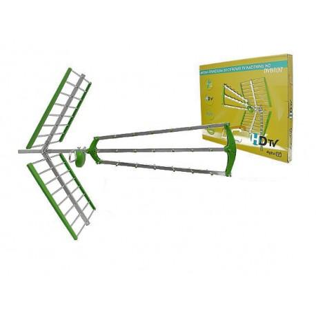 Antena zewnętrzna DVBT07 DVB-T + filtr LTE LTC