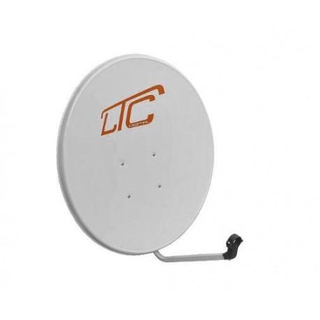 Antena satelitarna 90cm stal. LTC biała /SAT900/