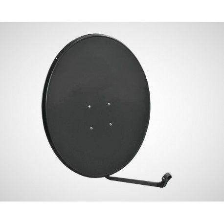Antena satelitarna 90cm stalowa grafit. /SAT951/