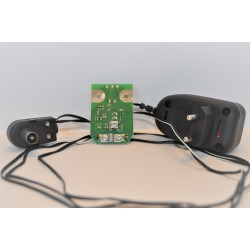 Wzmacniacz płytka GPS + zasilacz ant. z separatorem