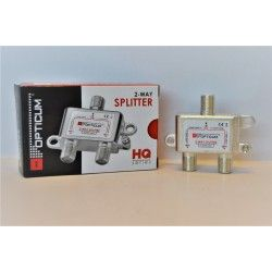 Rozgałęźnik TV-SAT 1/2 F DC pass Opticum