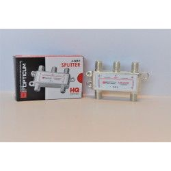 Rozgałęźnik TV-SAT 1/4 F Power pass