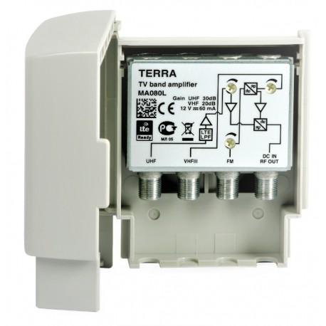 Wzmacniacz masztowy MA080L TERRA