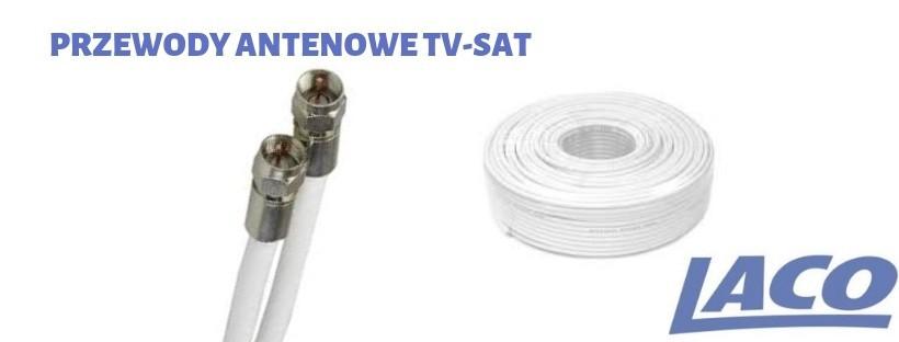 Przewody antenowe TV i SAT